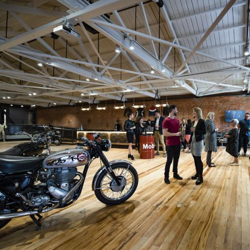 The Handle Bar at Classic Motorcycle Mecca