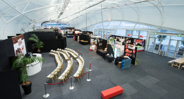 The Cloud - Exhibition Floor