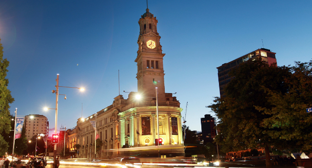 Auckland Town Hall - Exterior