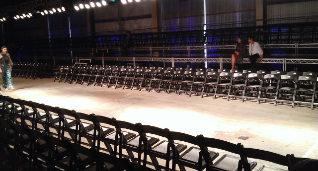 Shed  10 - Fashion runway