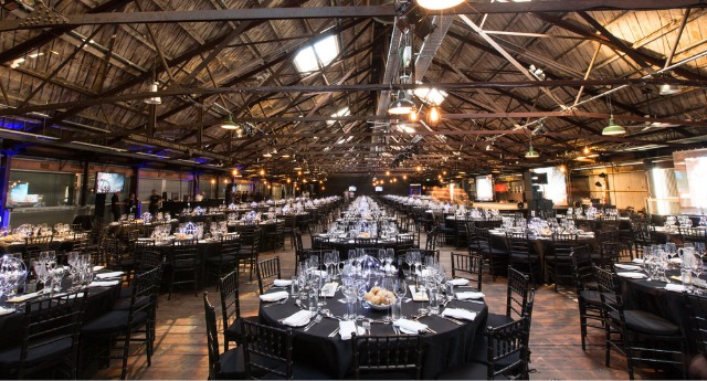 Shed 10 - Banquet seating